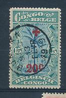 BELGIAN CONGO 1918 ISSUE COB 74 USED - Belgisch-Kongo