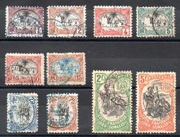 SOMALIS - Lot Oblitérés Entre N° 53 Et 66 - Cote: 89,00 € - Côte Française Des Somalis (1894-1967)