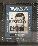 Nicaragua 1971 Kennedy Obl - Nicaragua