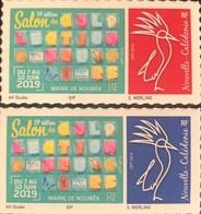 NOUVELLE CALEDONIE (New Caledonia)- Timbre Personnalisé - OPT - 2019 - Salon Collectionneurs Nouméa - Neufs