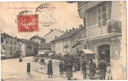 POSTE DOUANIER FRANCAIS : BELLEGARDE DOUANE FRANCAISE LA VISITE - Circulé Vers BAYONNE - Douane