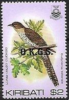 KIRIBATI - MNH  O.K.G.S. - 1983  -    Pacific Long-tailed Cuckoo    Urodynamis Taitensis - Cuckoos & Turacos