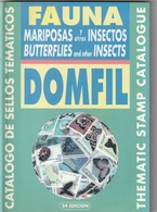 Catalogue Domfil Thematique Insects  Papillons  Neuf - Thématiques