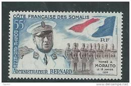 Cote Des Somalis P.A.  N° 27  XX 25ème Ann. De La Mort De L'administrateur Bernard, Sans Charnière, TB - Côte Française Des Somalis (1894-1967)