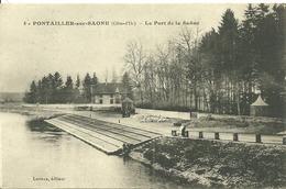 PONTAILLER-SUR-SAONE  - Le Port De La Saone - France