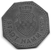 *notgeld  Hamm  50 Pfennig  1917 Zn  5860.13/f191.5 - [ 2] 1871-1918 : Duitse Rijk