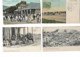 HAITI  LOT DE 4 - Postcards