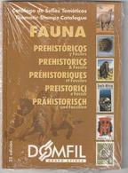 Catalogue Domfil Thematique Prehistoriques Et Fossiles  Neuf - Thema's