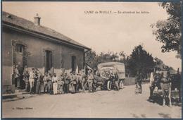 Camp De Mailly , En Attendant Les Lettres , Animée - Casernes