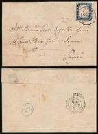 20 Cent. (15Aa) Su Lettera Ann. NUORO (p.3) Firmata Manzoni (€ 287,50) - Sardaigne