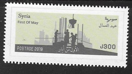 CELEBRATIONS, 2019, MNH,FIRST OF MAY,1v - Other