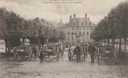 CPA 88 (Vosges) SENONES / LE 62ème D' ARTILLERIE PLACE DU CHATEAU / ANIMEE - Autres Communes