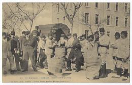 CPA 26 Drôme Romans Sur Isère Rare 75e 75eme Régiment Militaire Distribution De Pain Près Bourg De Péage Peyrins Alixan - Romans Sur Isere