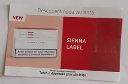 ROMANIA-CIGARETTES  CARD,NOT GOOD SHAPE,0.68 X 0.44 CM - Tabac (objets Liés)