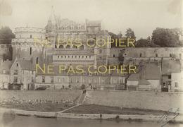 AMBOISE 3 Grandes Photos Vers 1890 La VILLE Le Chateau Indre-et-Loire 37 - Lieux