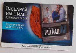ROMANIA-CIGARETTES  CARD,NOT GOOD SHAPE,0.74 X 0.48 CM - Ohne Zuordnung
