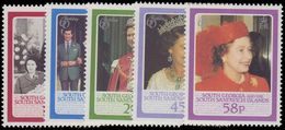 South Georgia 1986 Queen Elizabeth Birthday Unmounted Mint. - Südgeorgien