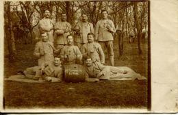 N°75262 -carte Photo : Le Tonneau De La Classe - Regiments