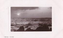 AM50 RPPC - After Storm - Rough Sea - Photographs