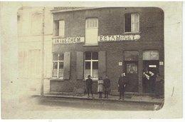 Café In Iseghem - Estaminet - Carte Photo - Roeselare Of Omgeving ? Onbekend - Inconnue - Roeselare