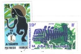 MD35 - POLYNESIA , I Numeri 104 E 105 Usati - Polinesia Francese