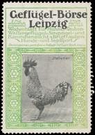 Leipzig: Italiener Huhn Reklamemarke - Vignetten (Erinnophilie)