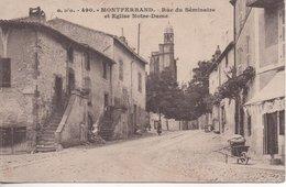 Montferrand Rue Du Seminaire Et Eglise Notre Dame - Autres Communes