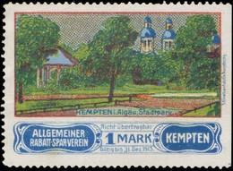 Kempten/Allgäu: Stadtpark Reklamemarke - Cinderellas