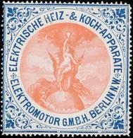 Berlin: Elektrische Heiz- Und Koch-Apparate Reklamemarke - Erinnophilie