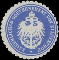 Kiautschou: K. Gouvernement Von Kiautschou Siegelmarke - Cinderellas
