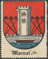 Bremen: Memel Reklamemarke - Erinofilia