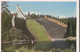 AQ60 Oslo, Holmenkollbakken, The Holmenkollen Ski-jumping Hill - Norway