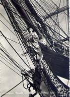Accademia Navale Livorno - La Spolena Della Nave A.vespucci - Formato Grande Viaggiata – E 13 - Livorno