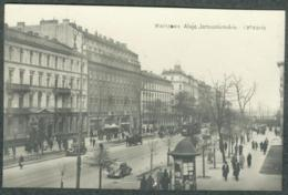 Pologne Polska Polen Warszawa Varsovie Warschau Aleje Jerozolimskie Tramway Oldtimer General Gouvernement - Poland
