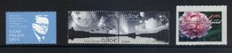 Finland 2009 YT 1934/1935** EUROPA Astronomy + M.Ahtisaari + Peony Fleur Bloem - Finland