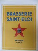 TOURS, 37 - Brasserie Saint Eloi , Bière Webel - Plaquette Publicitaire De 24 Pages - Alimentaire