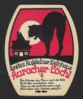 AURACHER - LÖCHL * ERSTES KUFSTEINER WEINHAUS * TIROL * 2 SCANS * EDIT. GOERNER - KLAGENFURT - Beer Mats