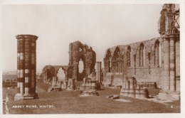 AM45 Abbey Ruins, Whitby - RPPC - Whitby