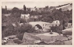 AM45 Fes, Un Pont Portgais - Fez