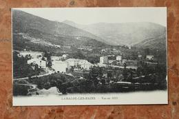 LAMALOU LES BAINS (34) - VUE EN 1872 - Lamalou Les Bains