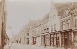 2604      292         Hoorn, Groote Noord (FOTO KAART) Met Links Uithangbord. R. Bossert, Stadshorloge - Hoorn