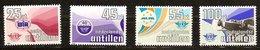 Antilles Néerlandaises Antillen 1984 Yvertn° 703-706  *** MNH Cote 6  € Aviation - Antilles