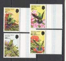 X347 1982 BRITISH VIRGIN ISLANDS FAUNA BIRDS HUMMINGBIRDS #424-27 1SET MNH - Hummingbirds