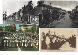 MONDE ENTIER - Lot De 316 CPA/CPSM - Jolis Timbres, Très Variées - Ansichtskarten