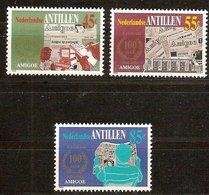 Antilles Néerlandaises Antillen 1984 Yvertn° 700-702  *** MNH Cote 4,20  € - Antilles