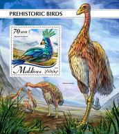 MALDIVES 2018 - Giant Moa - Mi B1238 - Struisvogels