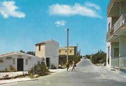 MARINA DI MODICA - BAR RISTORANTE LA BAIA - INSEGNA PUBBLICITARIA COCA COLA - FANTA - CASSE DI BIRRA -1985 - Modica