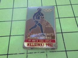 411a PINS PIN'S / Beau Et Rare : Thème JEUX OLYMPIQUES / HELSINKI 1952 - Jeux Olympiques