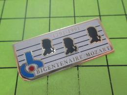 411a PINS PIN'S / Beau Et Rare : Thème MUSIQUE / RADIO FRANCE BICENTENAIRE MORT MOZART 1793 1993 - Musique