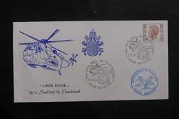 BELGIQUE - Enveloppe Par Hélicoptère En 1985 , Cachets Plaisants - L 41430 - Belgium